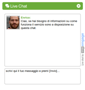Live-chat help service