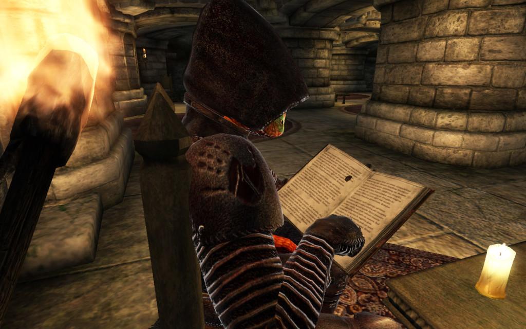 Leggendo oltre le spalle di un assassino argoniano
